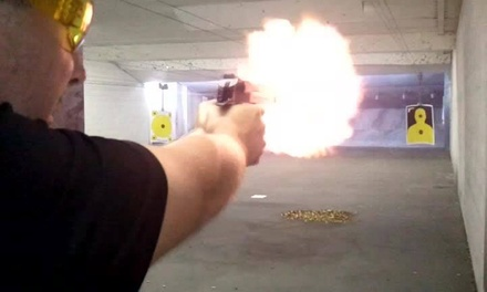 $25 for One Hour of Range Time for Two Guests with Unlimited Gun Rentals at Fletcher Arms ($42 Value)