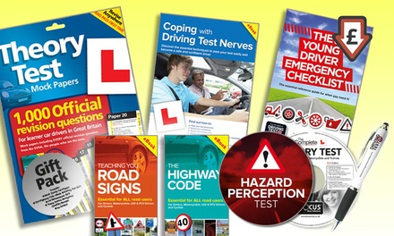 The Learner Driver Gift Pack Theory Test Papers and Driving Test PC/DVD