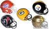 NFL and NCAA Autographed Football Helmet: NFL and NCAA Autographed Football Helmet