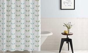 Amrapur Overseas Waterproof Printed Shower Curtain