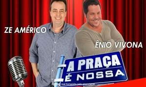 """Cultural ART Produções: """"Stand-up Comedy com Zé Américo e Ênio Vivona"""" - Teatro Nelson Rodrigues: 1 ingresso para 15/07, às 20h"""