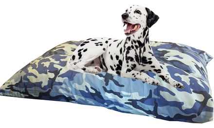 Kosipet Jumbo Blue Camouflage Dog Cushion