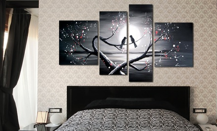 FabuArt.com Multipanel, Hand-Painted Oil Painting on Canvas. Multiple Pieces and Sizes Available. Free Returns.