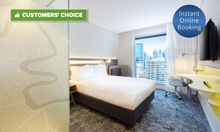 Brisbane, CBD: 13 Nights with Breakfast, Drinks and Late CheckOut at 4* Mystery Hotel