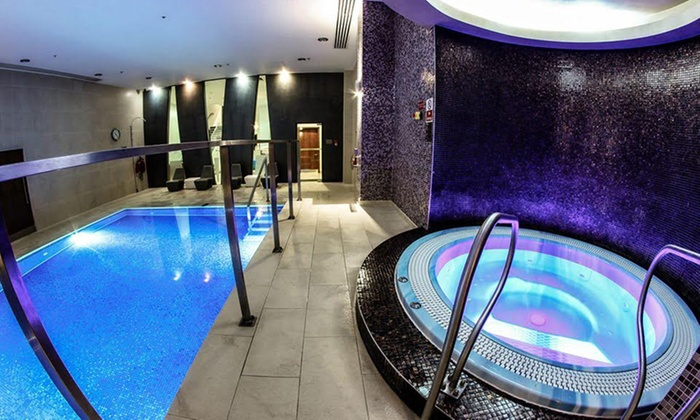 London Therapy 4 U - King's Cross: Spa Access with Choice of Two Treatments and Refreshments for One or Two at Crowne Plaza (Up to 46% Off)