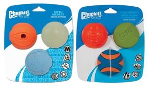 Chuckit! Fetch Medley Dog Toys (3-Pack)