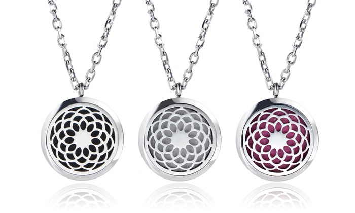 Monogram hub up to 95 off groupon up to 95 off aromatherapy essential oil diffuser necklace aloadofball Gallery