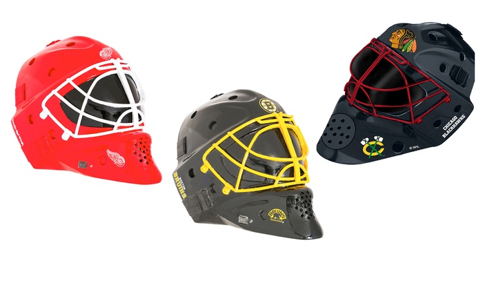 NHL Goalie-Helmet Outdoor Bluetooth Speaker
