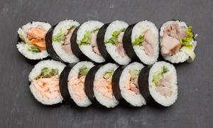 Oto Sushi: Japońska uczta: zestaw sushi (39,99 zł) z zupami (54,99 zł) i więcej w Oto Sushi w Bydgoszczy (do -40%)