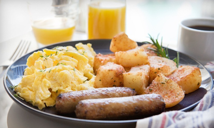 The Water's Edge Restaurant at Adrenaline Adventures - Headingley: $12 for a Sunday Brunch for Two at The Water's Edge Restaurant at Adrenaline Adventures ($25.98 Value)