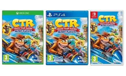 Pre-order videogioco Crash Team Racing Activision Nitro-Fueled per PS4, Switch o Xbox One, con spedizione gratuita