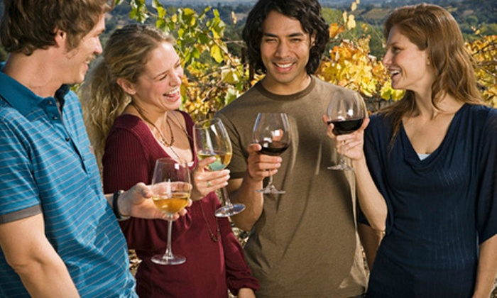 Vegas Wine Tours - online: $59 for a Wine-Tasting Tour for One with Luxury Open-Bar Party-Bus Transportation from Vegas Wine Tours ($120 Value)