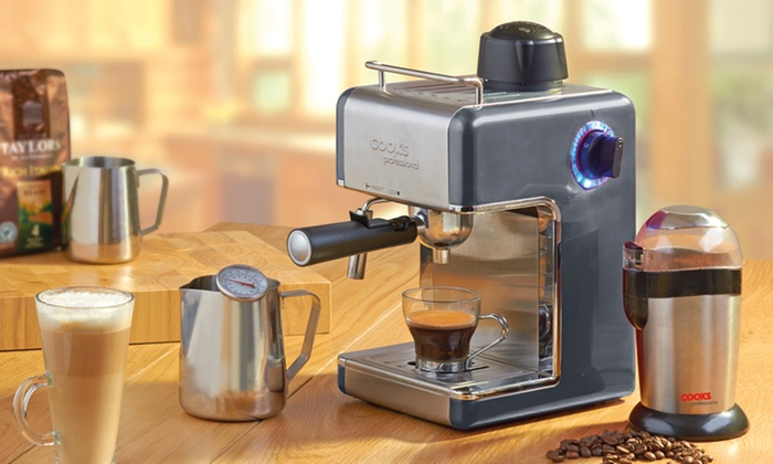 Cooks Professional Espresso Maker Groupon Goods
