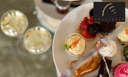 Premium Champagne Afternoon Tea for Up to Six at The Crazy Bear from £26.50 (Up to 54% Off) (Merchandising (UK))