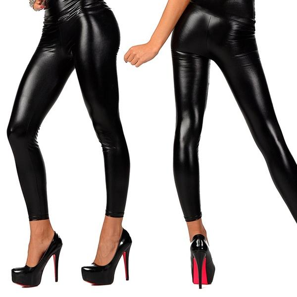 StretchÉpouse Simili Silhouette La 2 Femme Cuir 1 Ou Leggings rhQdCsxBt