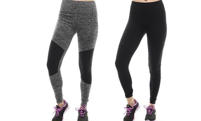 TheFreeYoga Women's Perfect Fit Yoga Leggings (2-Pack): TheFreeYoga Women's Perfect Fit Yoga Leggings (2-Pack)