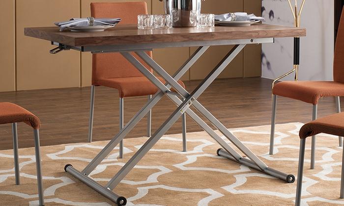 Tavolo trasformabile in tavolino | Groupon Goods