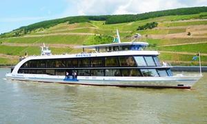 Bingen Rüdesheimer Fahrgastschiffahrt: Burgenrundfahrt für 2 oder 5 Personen mit der Flotte Bingen-Rüdesheimer Fahrgastschiffahrt