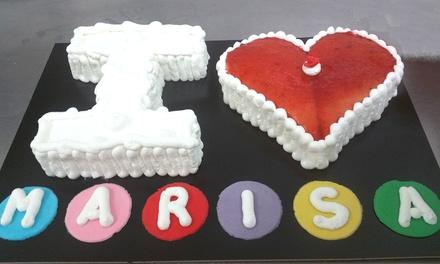 Tarta decorada de hasta 20 porciones desde 19,95 € en Starta Pastelería Artística