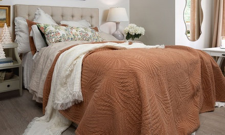 $10 Min. Spend $75 or $15 Min. Spend $149 to Spend on Bedspreads at Macey & Moore