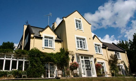 Isle of Wight: 1 to 3 Nights for Two with Breakfast, Wine and Car Ferry Discount at 4* Bedford Lodge