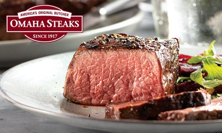 groupon.com - Holidays at Home Steak Packages from Omaha Steaks (Up to 55% Off). Three Options Available.