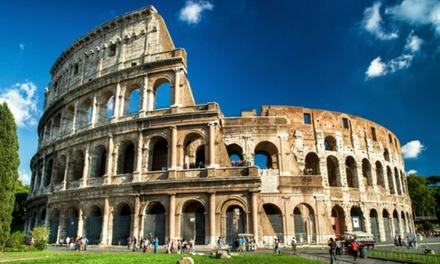 ✈ Rome : 2 ou 3 nuits en hôtel 4* avec petit déjeuner et vol A/R au départ de Paris Beauvais et Marseille