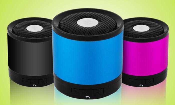 MicroBOOM Bluetooth Speaker (E-MB-MC12): MicroBOOM Bluetooth Speaker in Black, Blue, or Pink (E-MB-MC12). Free Returns.
