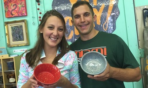 YAY CLAY!: One-Hour BYOB Wheel-Throwing Class for Two, Four, or Six at Yay Clay! (Up to 55% Off)