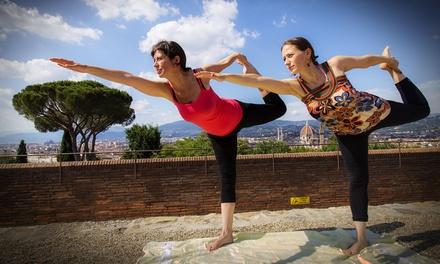 5 o 10 lezioni di yoga a scelta