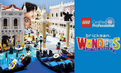 Brickman Wonders of the World at ASB Baypark Arena: Tickets from $9.05, 30 June - 22 July 2018