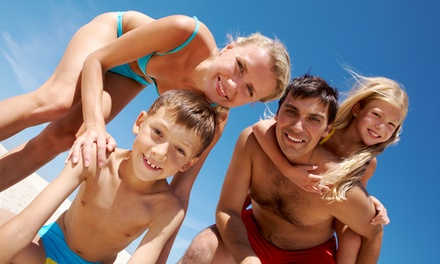 UK Locations: 3 or 4Night Summer Holidays Entertainment Break for Up to Four at Pontin's Family Holiday Parks