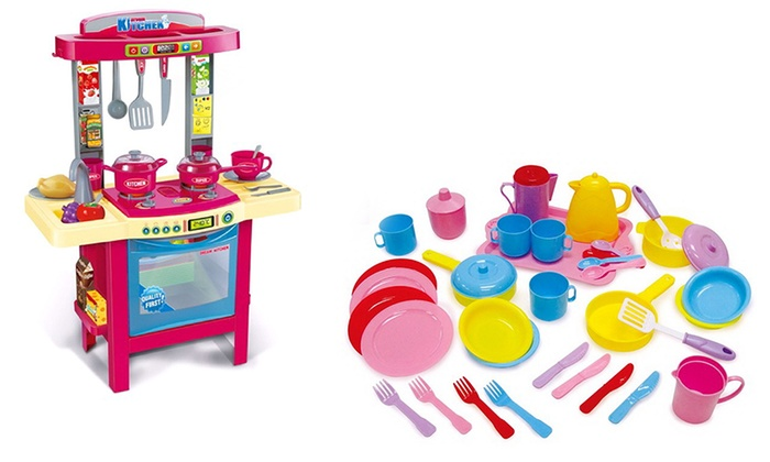 tool shed and kitchen play sets groupon