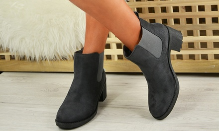 Women's Grey Ankle Boots