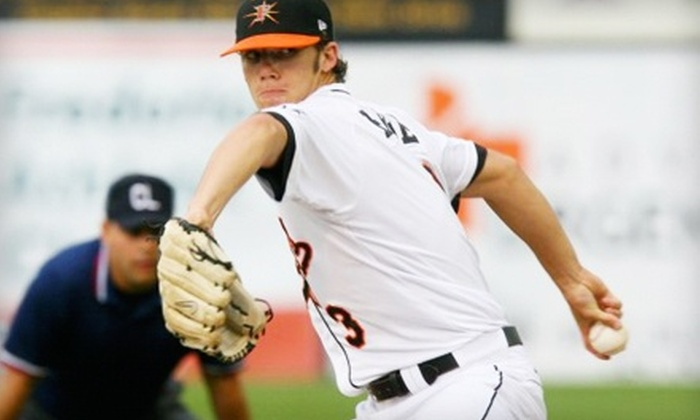 Frederick Keys -  Nymeo Field at Harry Grove Stadium: $20 for Two Tickets and a Hat to a Frederick Keys Home Game at Harry Grove Stadium (Up to $44 Value)