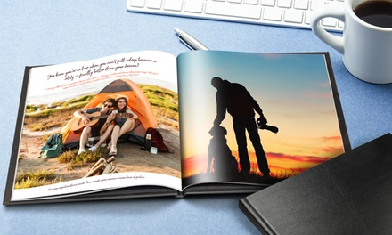 20, 40 or 60Page Hardback Square Photobook at Printerpix