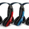 Axess Over-Ear Headphones with Bluetooth and Built-In Mic