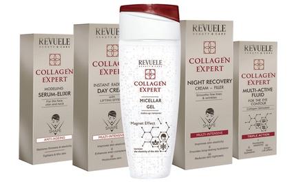 1, 2 ou 4 soins du visage en collagène de la marque Revuele