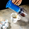 $27.99 for a Caféjo My French Press Brewer with Starbucks K-Cup Pods
