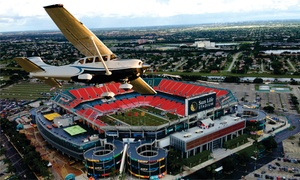 Miami Beach Air Tours: Miami Dolphins Stadium Private Air Tour for Two, Three, or Six from Miami Beach Air Tours (Up to 67% Off)