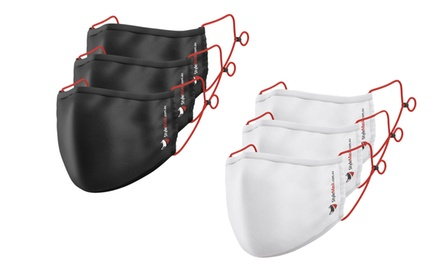 Egyptian Cotton Adjustable Three-Layer Mask: One ($9.95), Three ($24.95), Six ($44.95) or Twelve ($79.95)