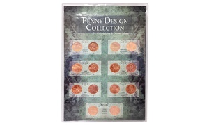 Brilliant Uncirculated Penny Design Collection