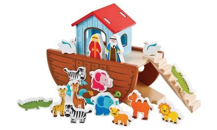 Lelin Wooden Noah's Ark