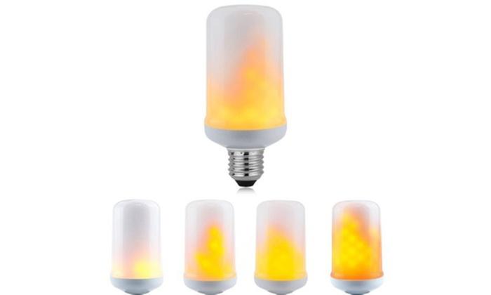 Swisstek 3 Mode Led Flame Light Bulb With Flicker Effect