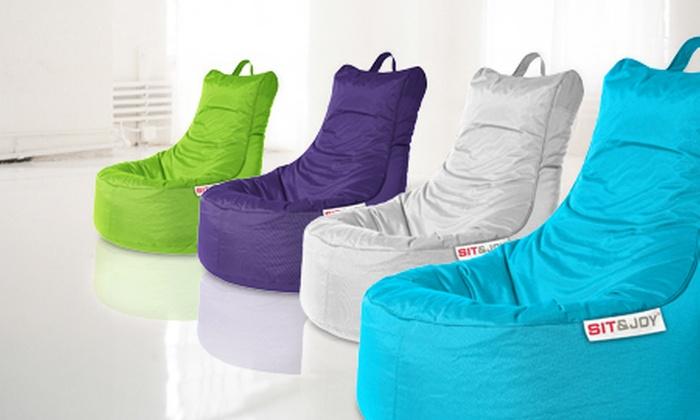 sitzsack groupon goods. Black Bedroom Furniture Sets. Home Design Ideas