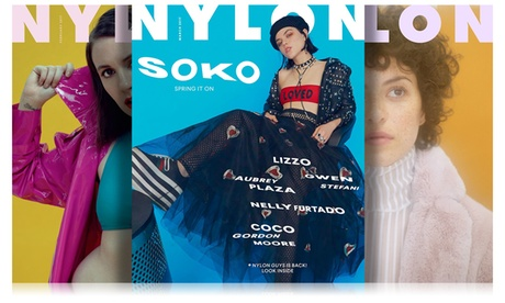 Subscription to Nylon Magazine with Option for Continuous Service from Blue Dolphin Magazines (Up to 60% Off) b22a0251-b74d-4870-a3a5-06295d046053