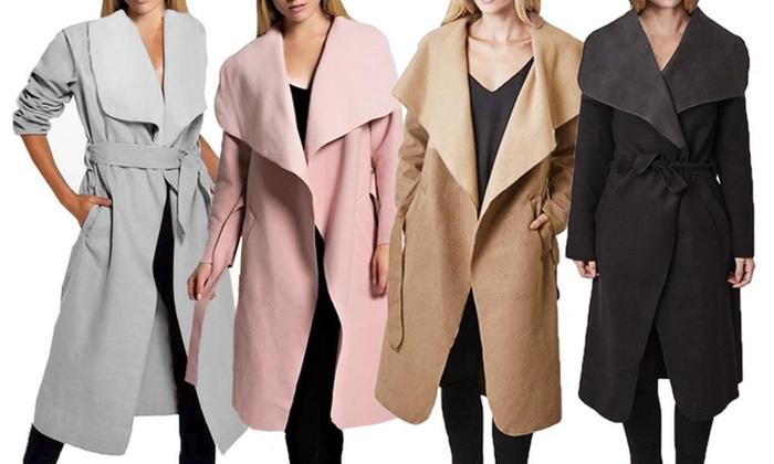 3560e20921 Fino a 58% su Cappotto da donna con cappuccio | Groupon