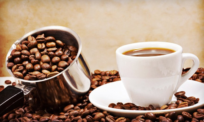 Coffee Creations - Cape Coral: Coffee Gift Basket or $10 for $20 Worth of Gourmet Coffee and Sandwiches at Coffee Creations
