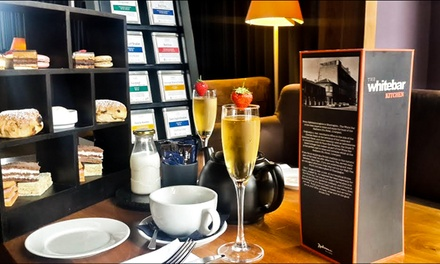 Afternoon Tea with Optional Glass of Prosecco for Two or Four at The White Bar at Radisson Blu Liverpool (Up to 69% Off)