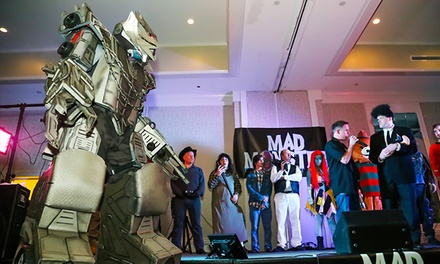 Admission for 1, 2, or 4 on March 24 or 26—Mad Monster Party Horror / Sci-Fi / Pop-Culture Con (Up to 42% Off)
